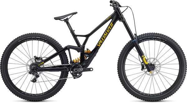 Specialized Demo Race 29 Color: Gloss/Metallic Black/Burnt Yellow