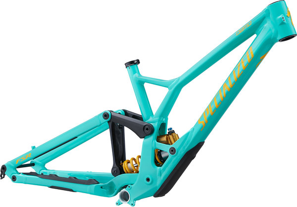 Specialized Demo Race 29 Frame Color: Gloss/Acid Mint/Burnt Yellow