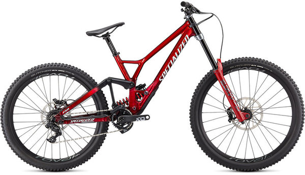 Specialized Demo Race Color: Gloss Brushed/Red Tint/White