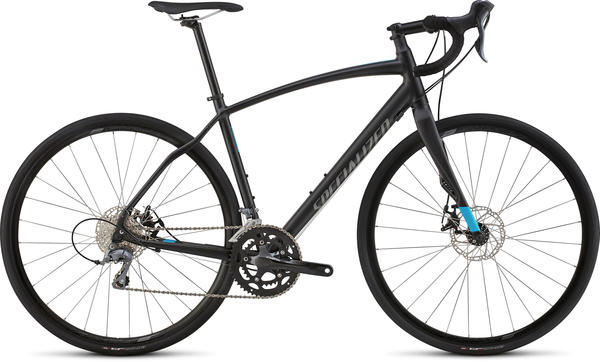 Specialized Diverge A1 Color: Satin Black/Cyan