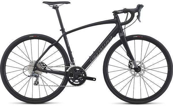 Specialized Diverge A1 Color: Satin Black/Charcoal