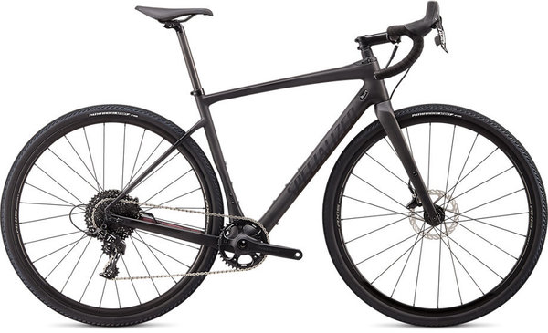 Specialized Diverge Carbon X1 Color: Satin Carbon/Black Reflective/Dusty Lilac Camo
