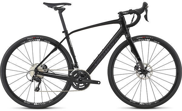 Specialized Diverge Comp Color: Satin Carbon/Gloss Carbon/Dream Silver