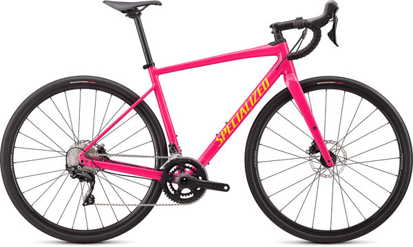 Specialized Diverge E5 Comp Color: Gloss Vivid Pink/Golden Yellow
