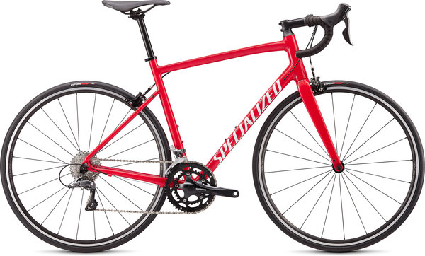 Specialized Allez 2020 Color: Gloss Flo Red/White Clean