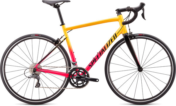 Specialized Allez Color: Gloss Golden Yellow-Vivid Pink