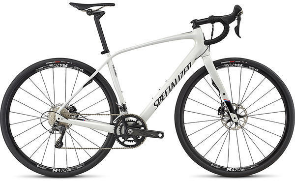 Specialized Diverge Expert Color: Gloss Dirty White/Satin Carbon/Martini Stripe
