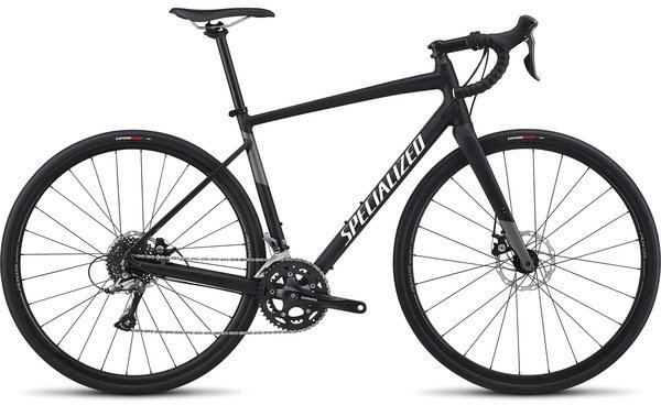 Specialized Men's Diverge E5 Color: Satin Black/White/Charcoal