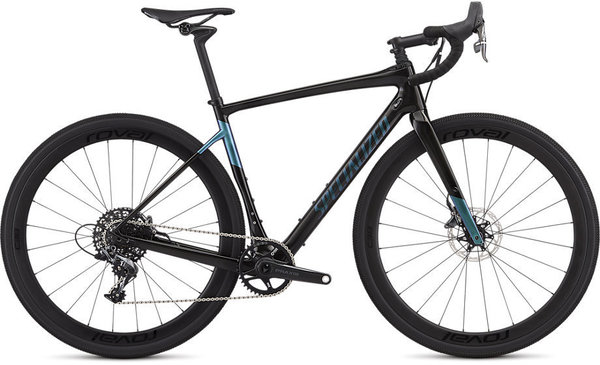 Specialized Men's Diverge Expert X1 Color: Gloss Carbon/Oil Slick