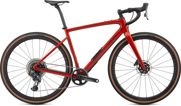 Specialized Diverge Pro Carbon Color: Gloss Redwood/Smoke/Chrome/Clean