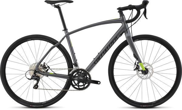 Specialized Diverge Sport A1 Color: Graphite/Hyper