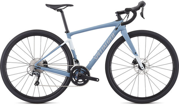 Specialized Women's Diverge Color: Satin Storm Grey/Ice Blue/Reflective