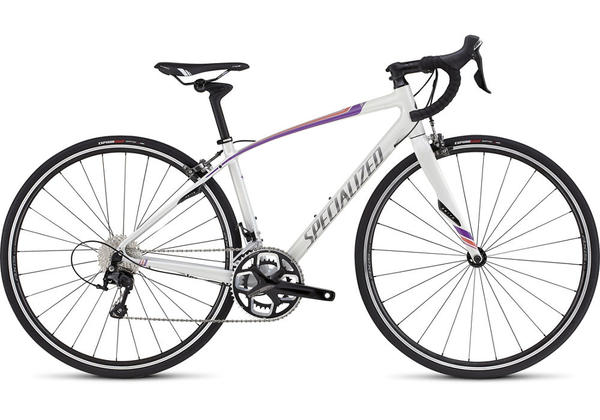 Specialized Dolce Comp - Women's Color: Gloss Dirty White/Deep Pearl Fuschia/Pearl COral