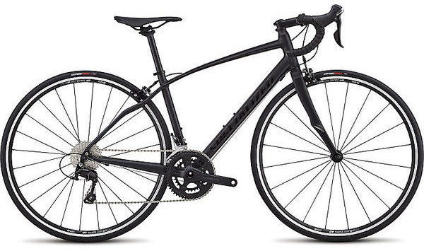 Specialized Dolce Elite Color: Satin Gloss Tarmac Black/Black