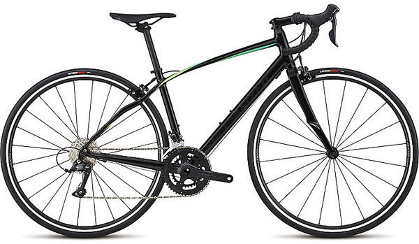 Specialized Dolce Sport Color: Gloss Satin Tarmac Black/Cali Fade