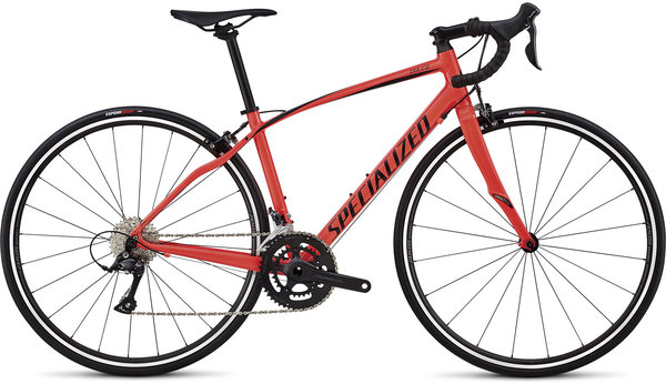 Specialized Dolce Sport Color: Gloss Satin Acid Red/Tarmac Black