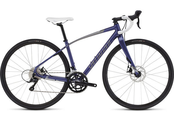 Specialized Dolce Sport Disc - Women's Color: Gloss Deep Pearl Indigo/Silver