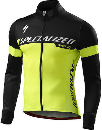 Specialized Element 1.0 Jacket Color: Neon Yellow/Black Team