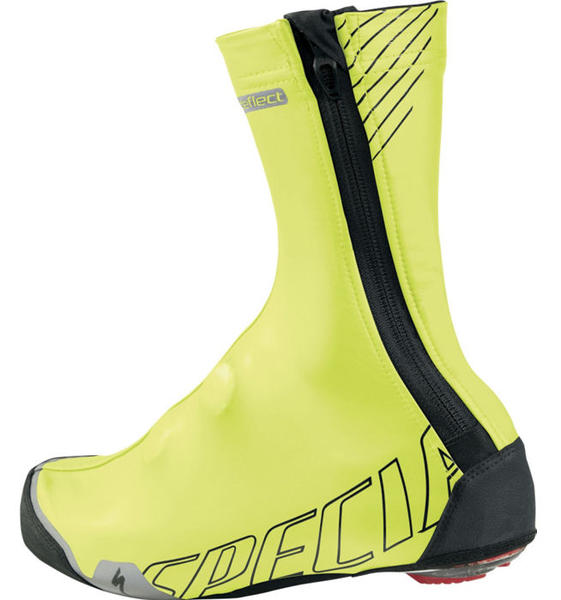 Specialized Deflect Shoe Covers Color: Neon Yellow