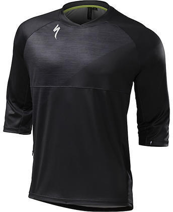 Specialized Enduro Comp 3/4 Jersey Color: Black