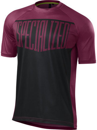Specialized Enduro Comp Jersey Color: Berry