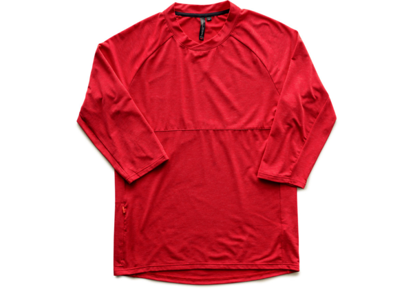 Specialized Enduro drirelease Merino 3/4 Jersey Color: Candy Red