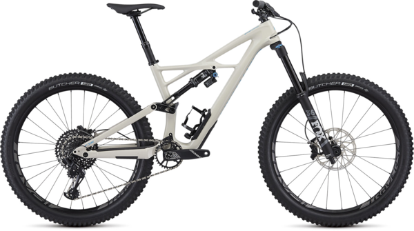 Specialized Enduro Elite 27.5 Color: Gloss White Mountain/Nice Blue