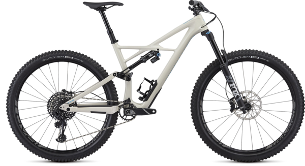 Specialized Enduro Elite 29 Color: Gloss White Mountain/Nice Blue