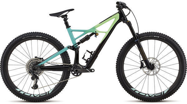 Specialized Enduro Pro 29/6Fattie Color: Gloss Black/Cali Fade/Charcoal