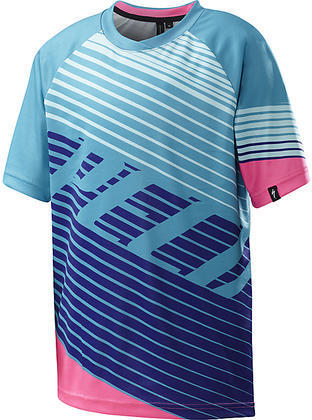 Specialized Enduro Grom 3/4 Jersey Color: Turquoise