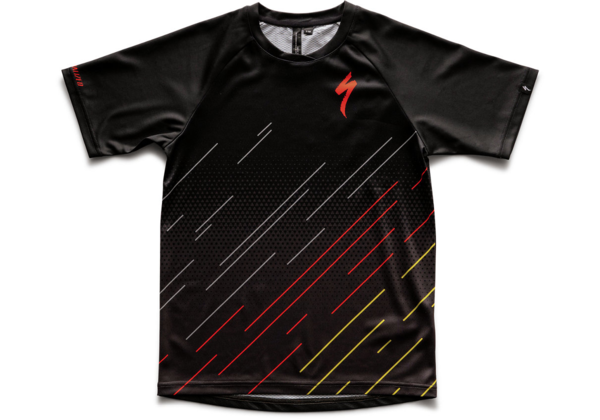 Specialized Kids' Enduro Grom Jersey Color: Black/Charcoal Hex