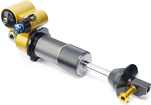 Specialized Enduro Ohlins Shock Color: Gold/Silver