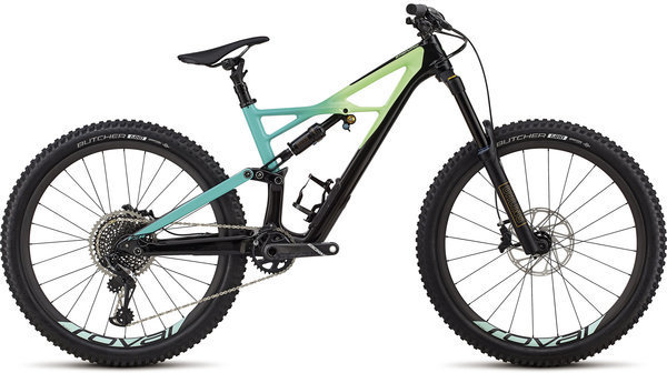Specialized Enduro Pro 27.5 Color: Gloss Black/Cali Fade/Charcoal