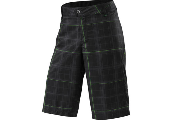 Specialized Enduro Sport Short Color: Black Plaid