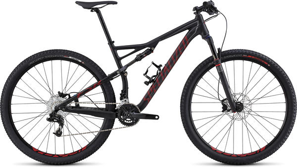 Specialized Epic Comp 29 Color: Satin Black/Red/Charcoal