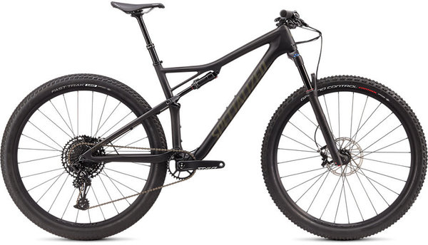 Specialized Epic Comp Carbon EVO Color: Satin Carbon/Oak Green