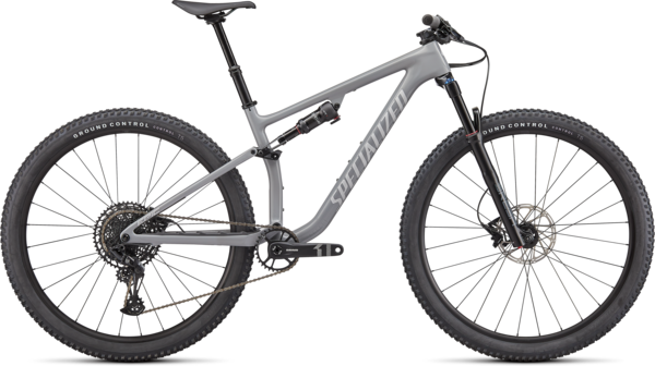 Specialized Epic EVO Color: Gloss Cool Grey/Dove Grey