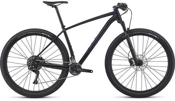 Specialized Epic Hardtail Color: Gloss Black/Deep Blue