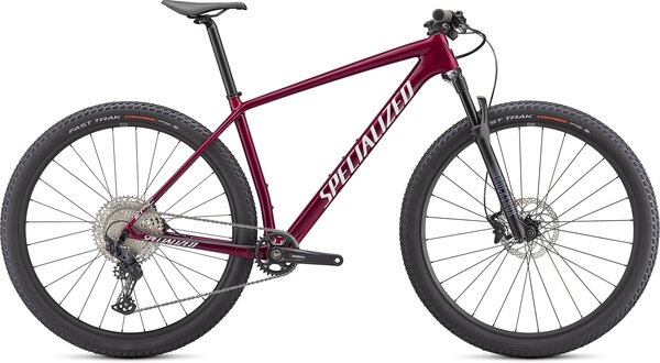 Specialized Epic Hardtail Color: Gloss Rasberry/Metallic White Silver