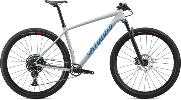 Specialized Epic Hardtail Comp Color: Gloss Dove Grey/Blue Ghost Pearl/Pro Blue