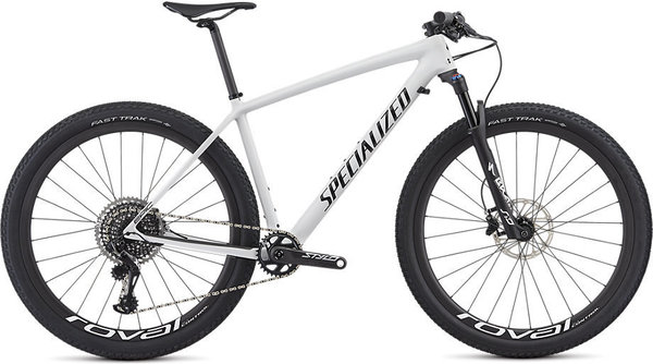Specialized Epic Hardtail Pro Color: Gloss White/Tarmac Black