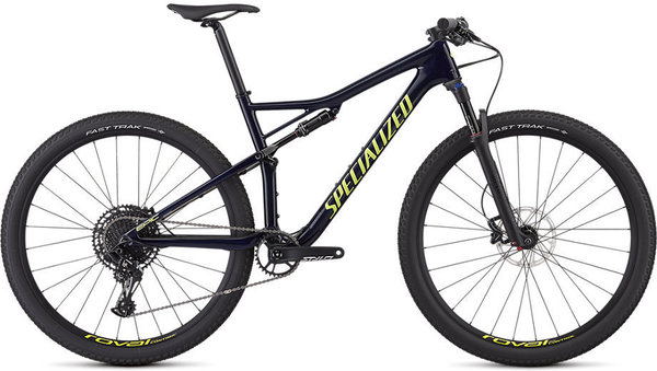 Specialized Men's Epic Comp Carbon Color: Gloss Blue Tint Carbon/Ion