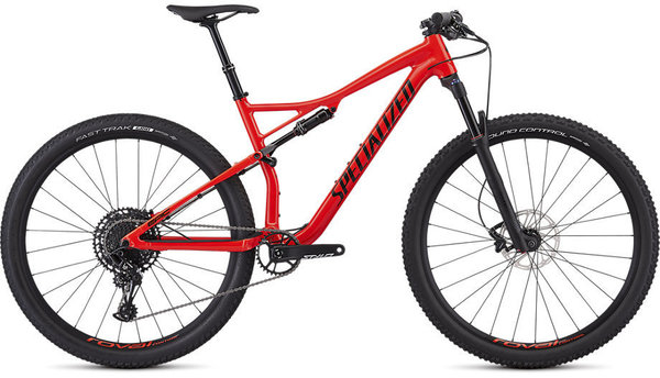 Specialized Epic Comp EVO Color: Gloss Rocket Red/Tarmac Black