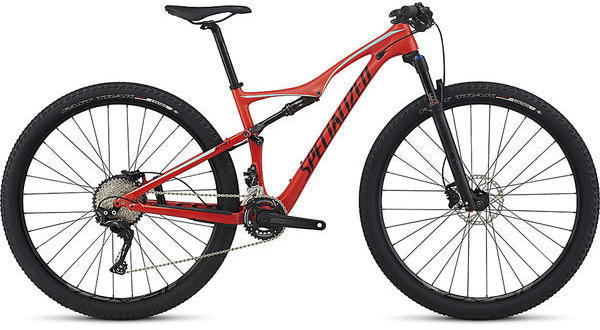 Specialized Era FSR Comp Carbon Color: Nordic Red/Light Turquoise/Tarmac Black
