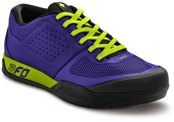 Specialized 2FO Flat - Women's Color: Indigo/Hyper Green