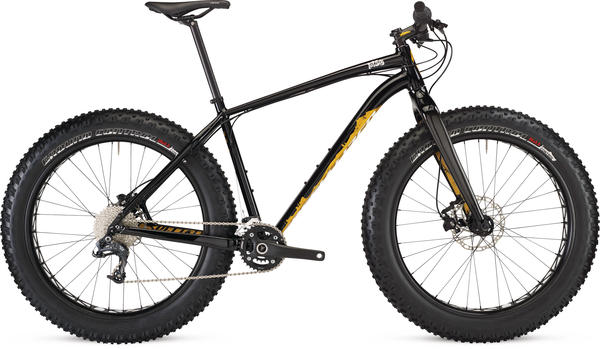 Specialized Fatboy Color: Gloss Black/Gold/White