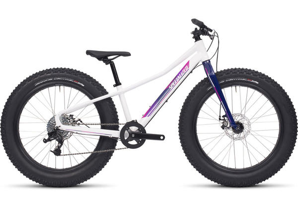 Specialized Fatboy 24 Color: Gloss White/Pink/Deep Fuschia/Deep Indigo
