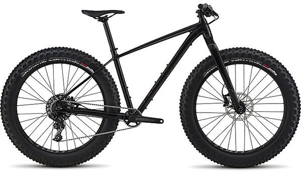 Specialized Fatboy Color: Gloss Tarmac Black/Charcoal