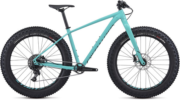 Specialized Fatboy Color: Gloss Acid Mint/Black/Clean