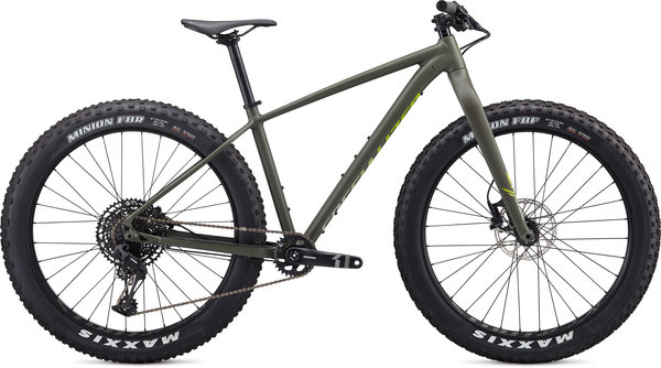 Specialized Fatboy Color: Satin Oak Green/Spruce/Hyper Green